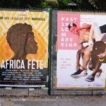 Affiche commune pour MaClick, Africa Fete et Festival de Marseille