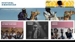 Affiche Sabine pour Africa Fete Festival de Marseille 8 juillet 2017