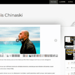 Capture site web Jean-Louis Chinaski