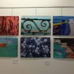 Photo expo Sabine Tostain Studio de la Plage couleurs détails matières