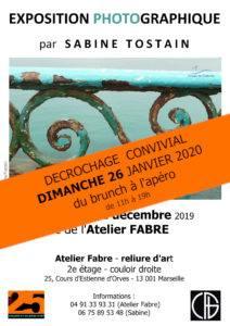Affiche décrochage expo photo 26 janvier 2020