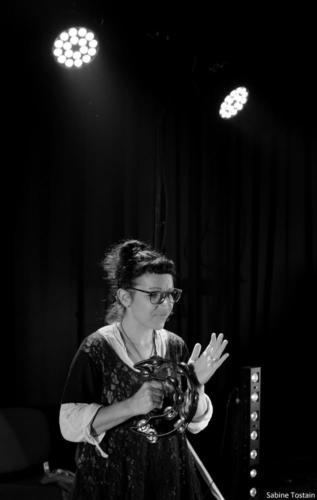 Trybu et les A cordés, Résidence Oct 2018 photo Sabine Tostain