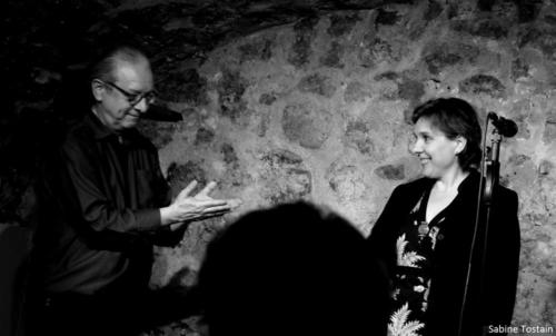 Annie Ebrel & Riccardo Del Fra 12 mai 2017 Photo Sabine Tostain