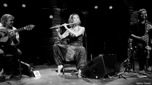 Antoinette Trio  Jazzebre 2018 photo Sabine Tostain