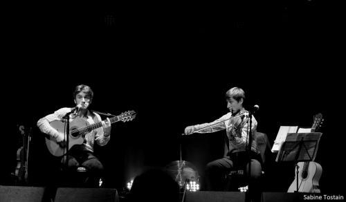 Fred et son frère - Gala Swing Quartet - Théâtre les Argonautes Marseille, photo Sabine Tostain