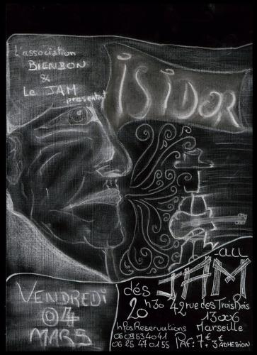 Affiche Isidor Dilo Jam - 4 mars 2016