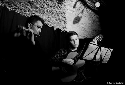 2016 Danilo De Luca et Daniel Marx Théâtre de Tatie Photo Sabine Tostain