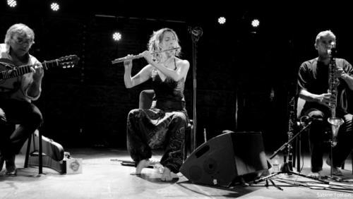 Antoinette Trio  Jazzebre 2018 photo Sabine Tostain