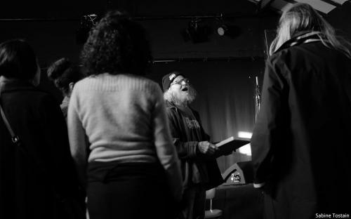 Danyel Waro conférence Marseille 10 mars 2018 photo Sabine Tostain